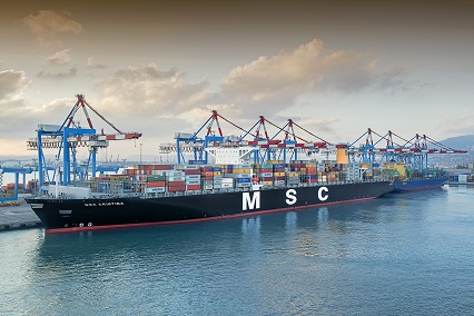 Haifa - first mega container ship -sm