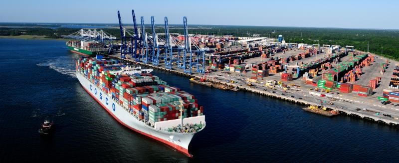 SC Ports Reports Record April for Container Volumes Inland Port