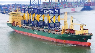 Hutchison Ports Port of Felixstowe delivery of its first remote-controlled RTGs -sm